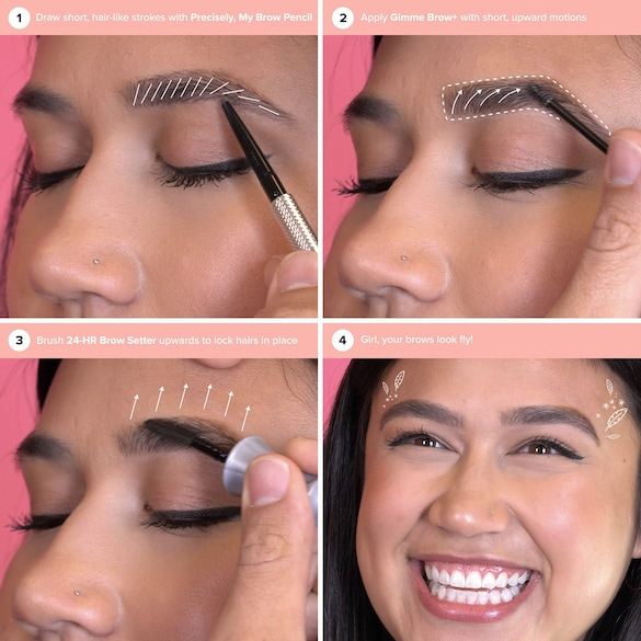 Feathered & Full Brows - Kit Sourcils