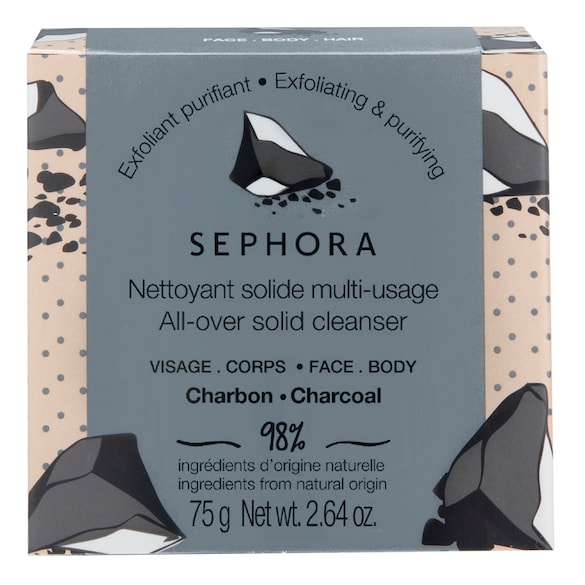Nettoyant solide multi-usage - Soin visage et corps, SEPHORA COLLECTION