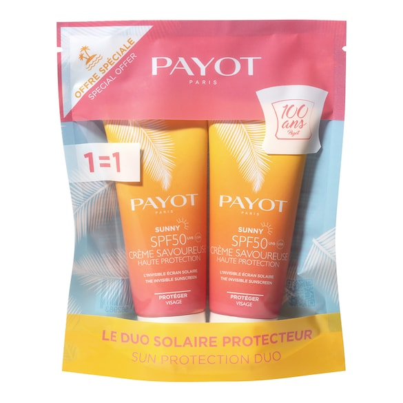 Duo Sunny - Crèmes solaires visage SPF 50, PAYOT